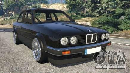 BMW E30 1983 M-Tech 1 [Beta] pour GTA 5