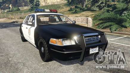 Ford Crown Victoria 1999 Police v1.0 pour GTA 5