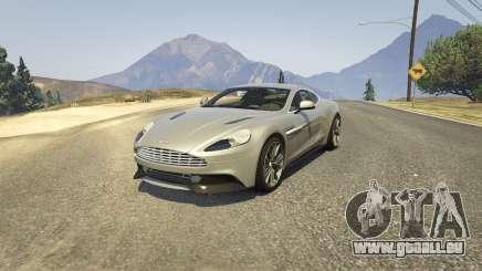 Aston Martin Vanquish V12 2015 pour GTA 5