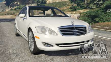 Mercedes-Benz S550 W221 v0.5 [Alpha] pour GTA 5