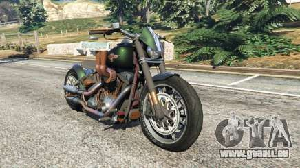 Harley-Davidson Fat Boy Lo Racing Bobber v1.1 pour GTA 5