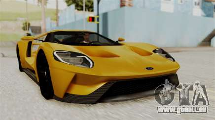 Ford GT 2016 Black Revel pour GTA San Andreas