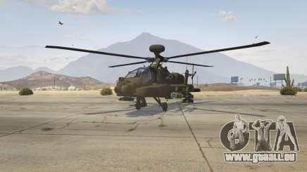 AH-64D Longbow Apache für GTA 5