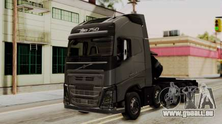 Volvo FH Euro 6 10x4 Exclusive High Cab für GTA San Andreas