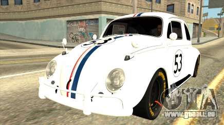 Volkswagen Beetle Herbie Fully Loaded pour GTA San Andreas