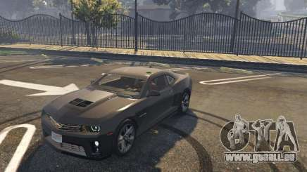 Chevrolet Camaro zl1 2013 pour GTA 5