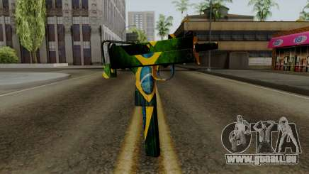 Brasileiro Micro Uzi v2 pour GTA San Andreas