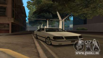 Mercedes Benz W140 S600 pour GTA San Andreas