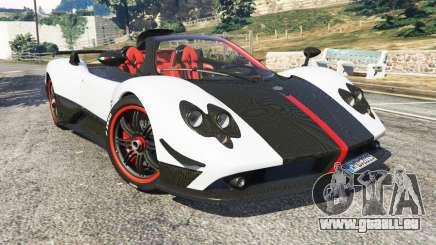 Pagani Zonda Cinque Roadster für GTA 5