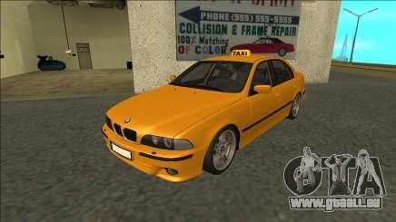 1999 BMW 530d E39 Taxi für GTA San Andreas