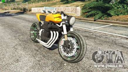 Honda CB 1800 Cafe Racer Paint für GTA 5
