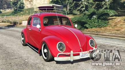 Volkswagen Beetle 1963 [Beta] pour GTA 5