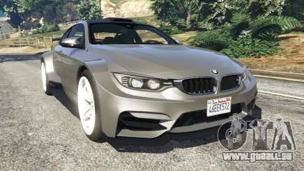 BMW M4 F82 WideBody pour GTA 5