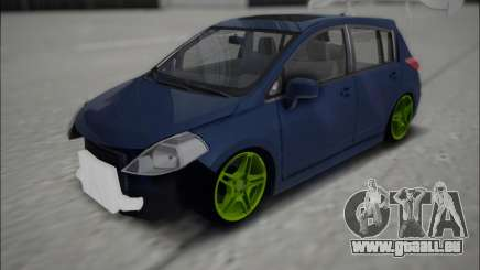 Nissan Tiida Drift Korch pour GTA San Andreas