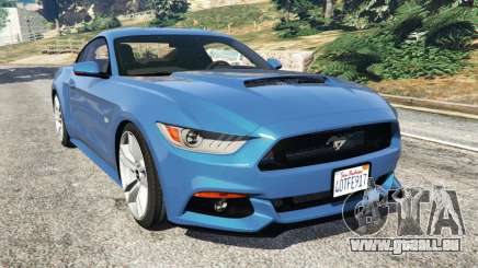 Ford Mustang GT 2015 pour GTA 5