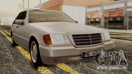 Mercedes-Benz W140 400SE 1992 pour GTA San Andreas