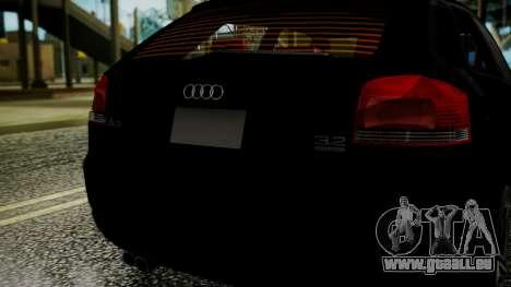 Audi A3 für GTA San Andreas rechten Ansicht