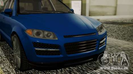GTA 5 Obey Rocoto IVF für GTA San Andreas Rückansicht