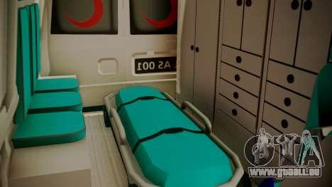 Ford Transit Jumbo Ambulance für GTA San Andreas Rückansicht