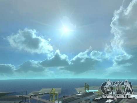 Realistisch Skybox HD 2015 für GTA San Andreas dritten Screenshot