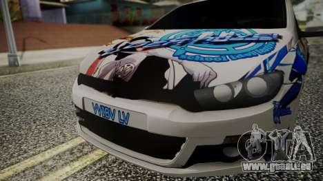 Volkswagen Scirocco für GTA San Andreas rechten Ansicht