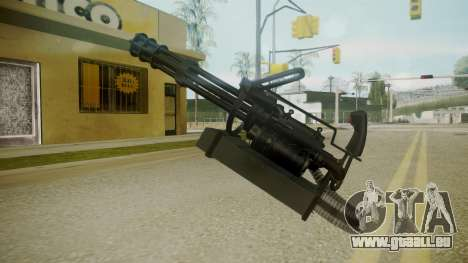 Atmosphere Minigun v4.3 für GTA San Andreas dritten Screenshot