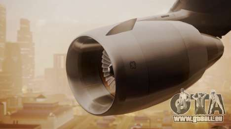DC-10-30 All-White Livery (Paintkit) pour GTA San Andreas vue de droite