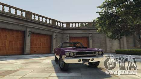 Plymouth Road Runner 1970 pour GTA 5