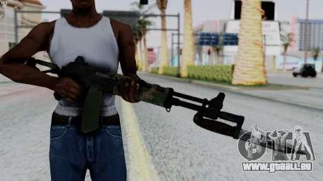 AK-47 from RE6 pour GTA San Andreas troisième écran