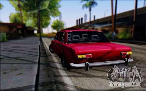VAZ 2101 V1 für GTA San Andreas zurück linke Ansicht