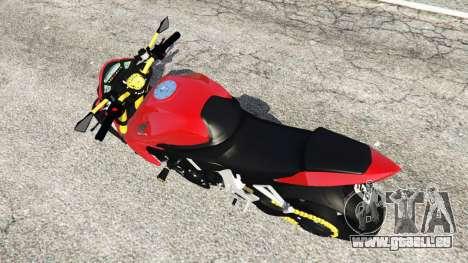 GTA 5 Honda CB1000R Rückansicht