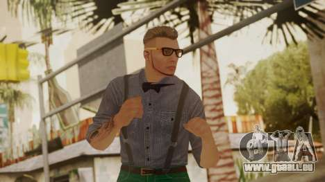 GTA Online Skin Hipster pour GTA San Andreas