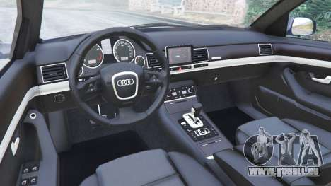 GTA 5 Audi A8 droite vue latérale