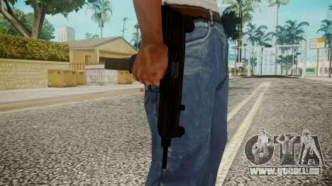 Micro SMG by EmiKiller für GTA San Andreas dritten Screenshot