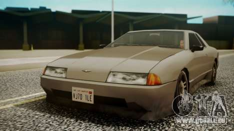Elegy Hell Cat pour GTA San Andreas sur la vue arrière gauche