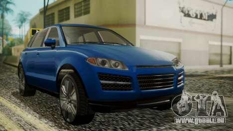 GTA 5 Obey Rocoto IVF pour GTA San Andreas