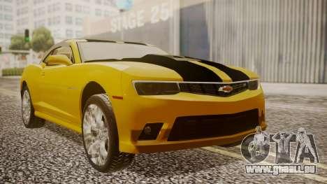 Chevrolet Camaro SS 2015 pour GTA San Andreas