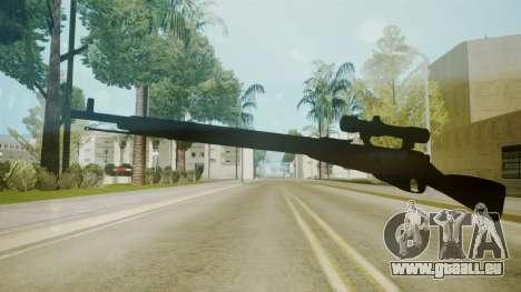Atmosphere Sniper Rifle v4.3 für GTA San Andreas