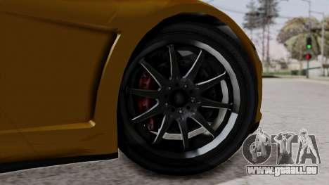 Dinka Jester Sparkle für GTA San Andreas zurück linke Ansicht