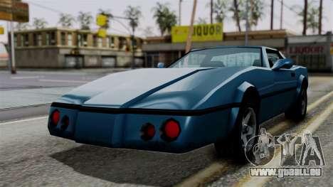 Banshee from Vice City Stories pour GTA San Andreas vue de droite