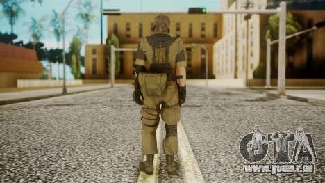 Venom Snake Other Arm pour GTA San Andreas troisième écran