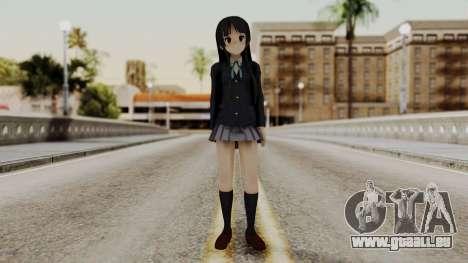 K - ON Remake Mio Akiyama für GTA San Andreas zweiten Screenshot