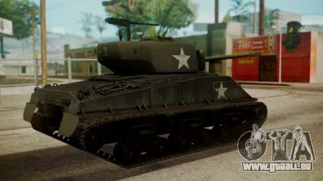 M4A3(76)W HVSS Sherman pour GTA San Andreas laissé vue