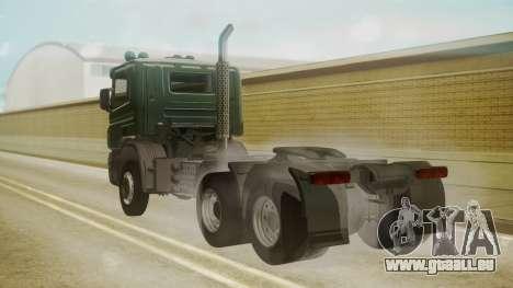 Scania P420 für GTA San Andreas linke Ansicht
