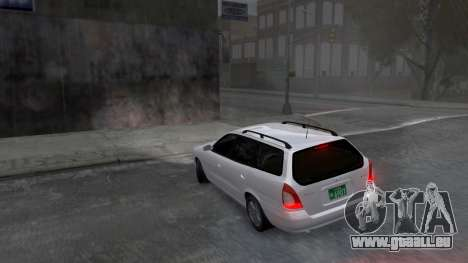 Daewoo Nubira I Spagon 1.8 DOHC 1998 pour GTA 4 est une vue de dessous