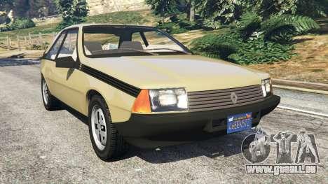 Renault Fuego 1980 für GTA 5