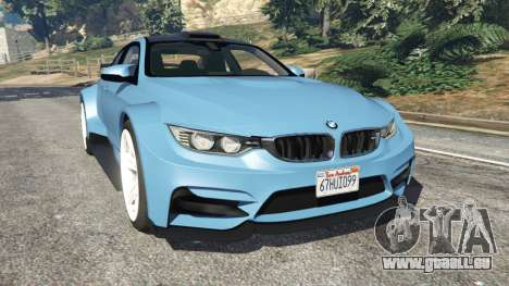 BMW M4 (F82) WideBody pour GTA 5