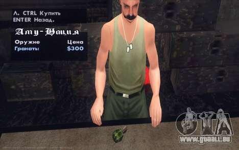 Realistic Weapons Pack für GTA San Andreas siebten Screenshot