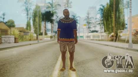 Sbmocd HD pour GTA San Andreas deuxième écran