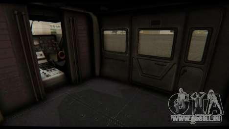 KA 60 l'hirondelle pour GTA San Andreas vue de côté